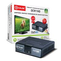 ТВ-тюнер DVB-T2 D-color DC911HD