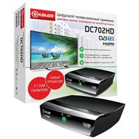 ТВ-тюнер DVB-T2 D-color DC702HD